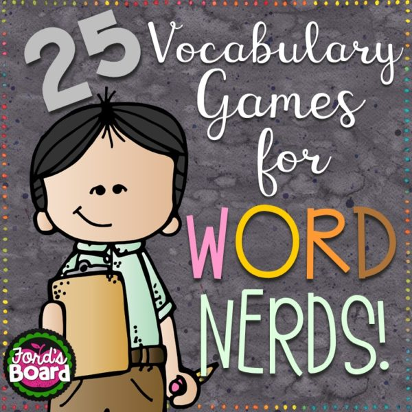 Word Nerds Vocabulary Games