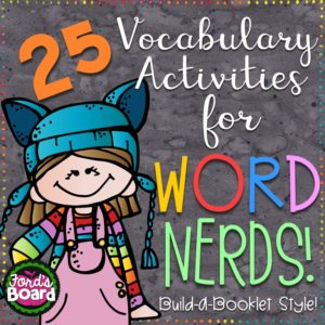 Word Nerds Vocabulary Booklets