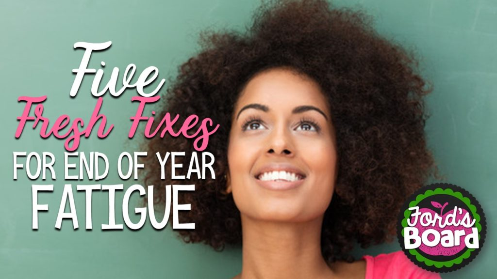 Five Fresh Fixes for End of Year Fatigue